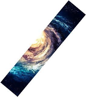 """Rayauto 47""""X10"""" Sport Outdoor Electric Skateboard Longboard Dancing Board Double Rocker Board Waterproof Diamond Griptape Sheet Sticker Deck Sandpaper"""