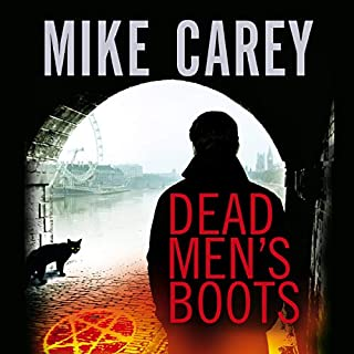 Dead Men's Boots     Felix Castor Novel, Book 3               By:                                                                                                                                 Mike Carey                               Narrated by:                                                                                                                                 Michael Kramer                      Length: 15 hrs and 58 mins     8 ratings     Overall 4.1