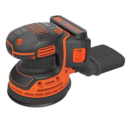 Read About Black & Decker BDCRO20C 20V MAX Random Orbit Sander with Battery and Charger