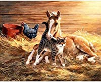 Wooden jigsaw puzzle 4000 pieces-Playing animals-DIY Adult Games Jigsaw Children Old People Gifts Home Decoration Puzzle Game