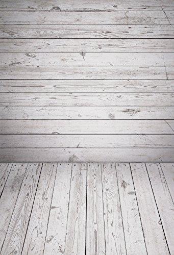 Muzi 150x 220cm Photography Hintergrund Papier grau Holz Wand und Boden angepasst Studio Hintergrund Studio Requisiten d-7585