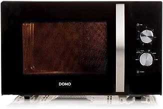 DOMO DO2431-Micro-ondes monofonction noir-30 L-900 W-Pose libre ...