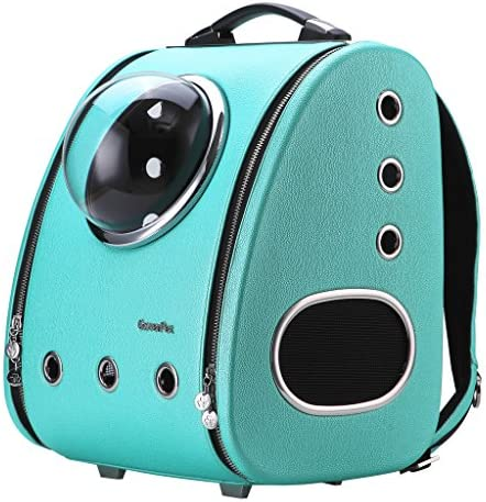 CLOVERPET C0103 Innovative Fashion Bubble Pet Travel Carrier Backpack for Cats Dogs Puppy Blue product image