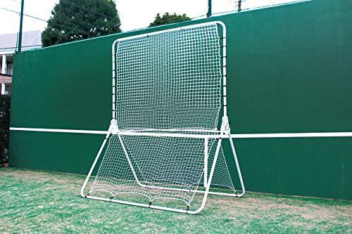 サクライ貿易 CALFLEX CT-1000 テニストレーナー・リバウンドネット 3段階角度調節式 折りたたみ式