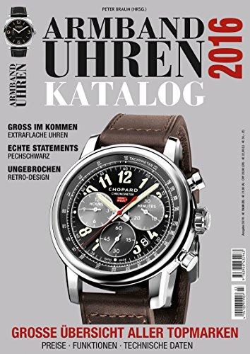 Armbanduhren Katalog 2016