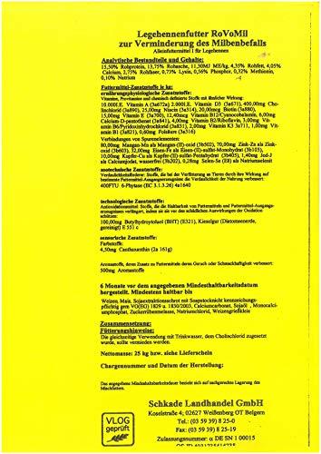 Schkade Futter gegen Milben - 3