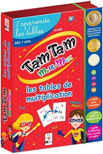 Tam Tam Multimax : J'apprends les tables de multiplication