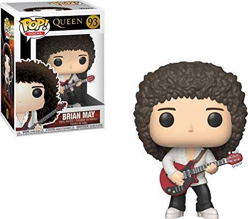 Funko- Pop Vinyl: Rocks: Queen: Brian May Figura De Vinilo, Multicolor, Talla Única (33720)
