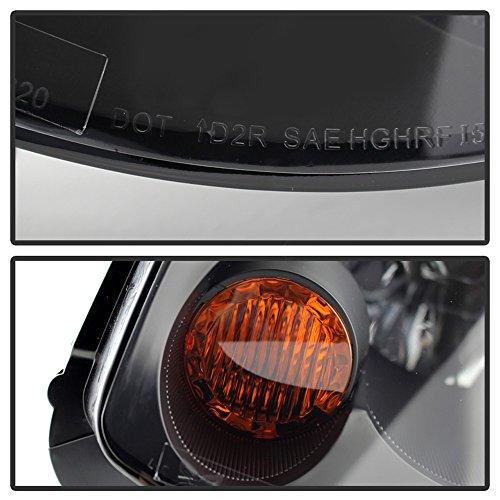 ACANII - Fits [HID Model] 2005-2006 G35 Sedan G35X Headlights Black Headlamps Driver + Passenger Side