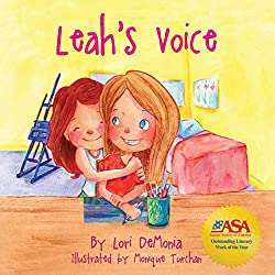 Leah's Voice children's autism book