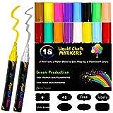 Joyoss Fluorescent Liquid Chalk Markers