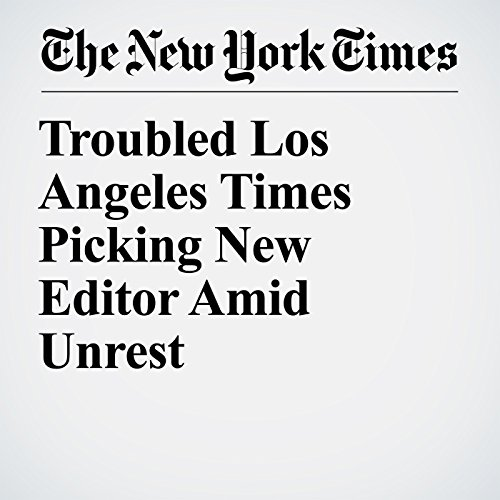 Troubled Los Angeles Times Picking New Editor Amid Unrest copertina