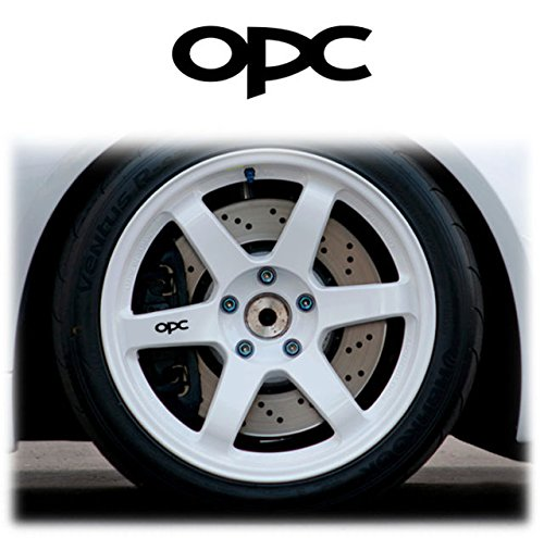 OPEL / VAUXHALL OPC ALLOY 4 x Felgenaufkleber Felgen Aufkleber WHEELS STICKERS DECALS GRAPHICS x4