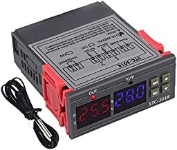 Fltaheroo voor Stc-3018 Digitale Temperatuur Vochtigheid Meter 110-220V 10A Thermostaat Dual Display Thermometer Hygromete...