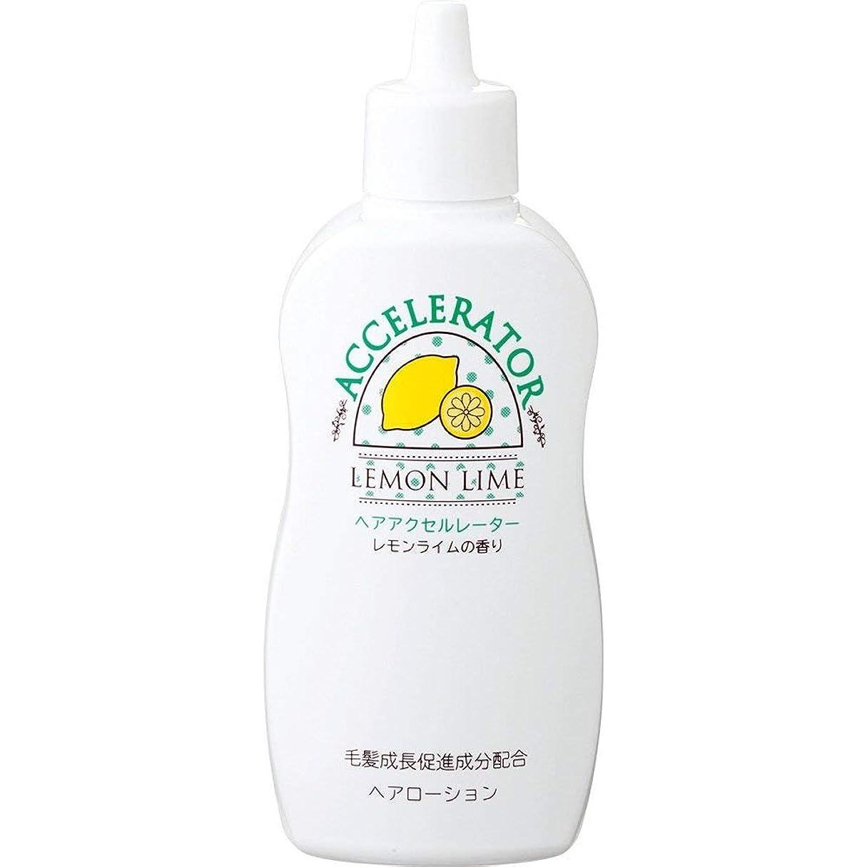 区画便利新鮮なヘアアクセルレーターL (レモンライムの香り) 150mL×6個