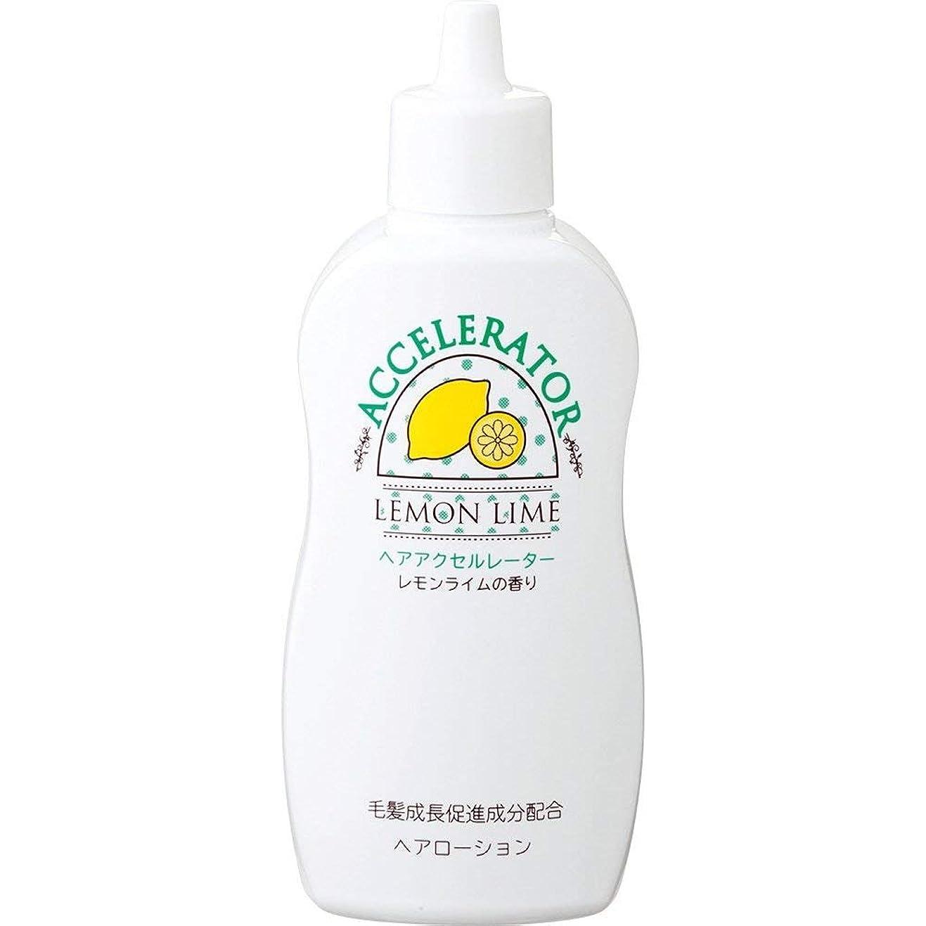 サドル家族やむを得ないヘアアクセルレーターL (レモンライムの香り) 150mL×6個