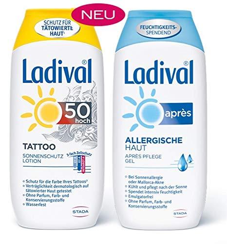Ladival Tattoo Sonnenschutz und Pflege - Vorteilsset