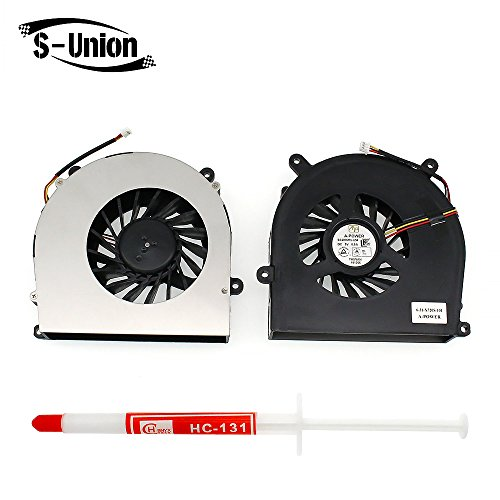 Generic New Laptop GPU Cooling Fan for Clevo P150 P150EM P170 P370 P570 760M 750S NP8150 NP8170 W370 W370SK NP8130 NP9150 Series Replacement Part Number 6-31-X720S-101 BS6005MS-U94