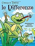 Cerca e Trova le Differenze: Libro di attività per bambini, Trova 5 differenze tra due im...