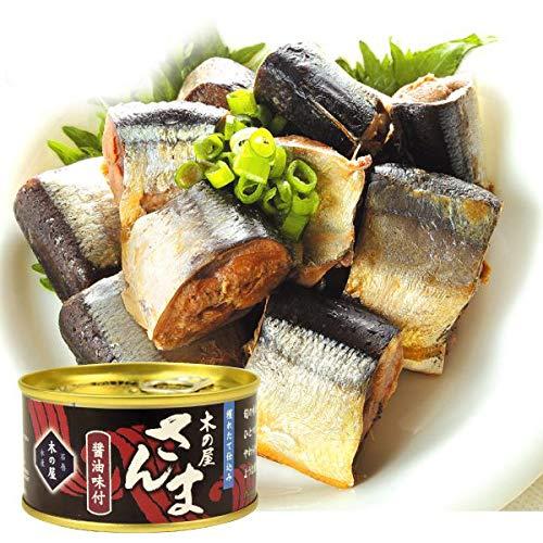 国華園 缶詰 さんま醤油味付・缶詰 12缶