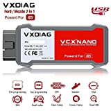 VXDIAG VCX Nano Compatible For Ford/Mazda 2 in 1 Diagnostic Tool With IDS Programming Tool