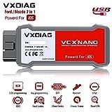 VXDIAG VCX Nano Compatible For Ford/Mazda 2 in 1 Diagnostic Tool With IDS Programming Tool