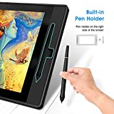 VEIKK VK1560 15.6 Inch Drawing Tablet with Screen HD IPS Graphic Monitor with Tilt 8192 Passive Battery Free Pen Pen Display for Sketch Teach Compatible with Windows Mac(92% NTSC 120%s RGB)