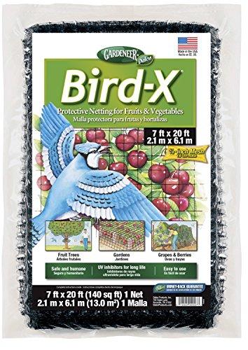Dalen 100055855 016069000073 Gardeneer by Bird-X Protective Netting 7' x 20' (1 Pack), 1Pack