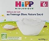 Hipp Biologique Délices de Lait Semoule au Lait Vanille/Fromage Blanc nature...