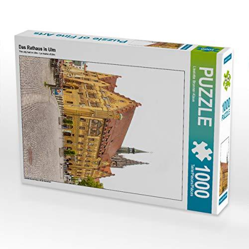 CALVENDO Puzzle Das Rathaus in ULM 1000 Teile Lege-Größe 48 x 64 cm Foto-Puzzle Bild von Liselotte Brunner-Klaus