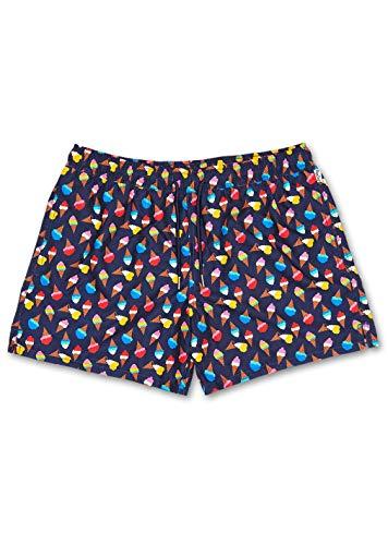 Happy Socks – Bunter, modischer Badeanzug für Damen, Ice Cream, M