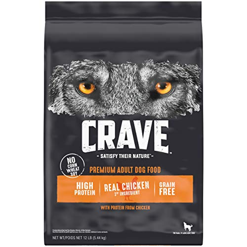 Crave Grain-Free Adult Dry Dog Food with Protein