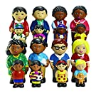 Excellerations Kids Multicultural Figures & Families Playset- Set of Four (Item # INSFALL)