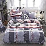 huyiming bed linings Verwendet für Heimtextilien Bettwäsche Set von Vier Imitation Baumwolle Dicke Bettwäsche Bettbezug Student 1,5/1,8 / 2m Bettbezug200 * 230cm