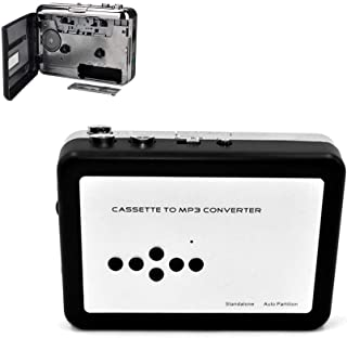 Portable Cassette Tape, High Fidelity to Mp3 Drive-Free Direct Recording U Disk Card Walkman Player Audio Converter
