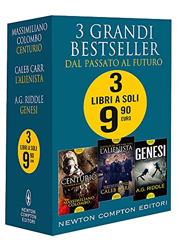 3 grandi bestseller. Dal passato al futuro: Centurio-L'alienista-Genesi