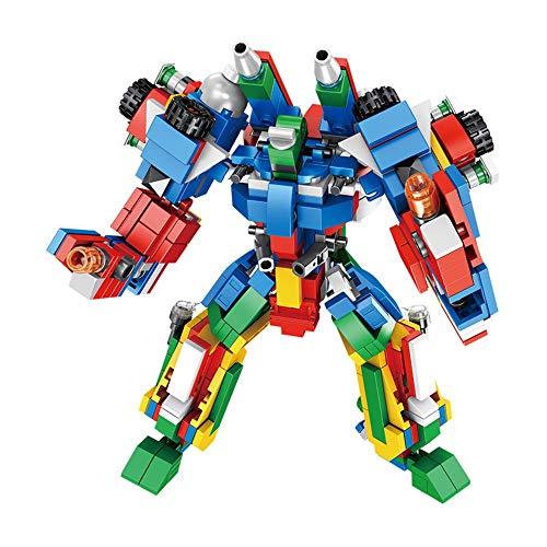 Blocs de Construction Enfants 3-12 ans Les enfants des blocs de construction for enfants Robot Puzzle petites particules Toy pour les Garçons Filles Cadeau ( Color : Multi-colored , Size : One size )