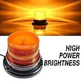 Luces-Emergencia-Ambar-Estroboscopica-Baliza 12v Impermeable LED Luz naranja destello Advertencia...
