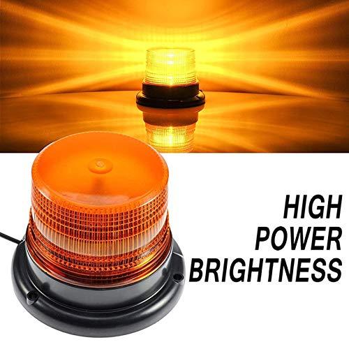 Luz de Estroboscopica Rotativo Advertencia Flash de Emergencia para Camion vehículo