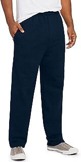 سروال ايكوسمارت للرجال من هانس المفتوح الساق بنسيج مرقط مع جيوب