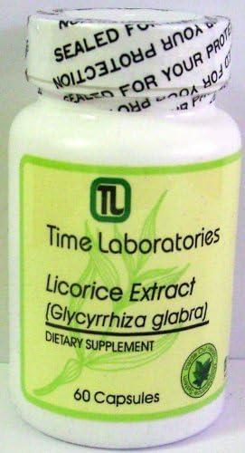 Licorice Trust Glycyrrhiza glabra Extract 60 Capsules Dedication