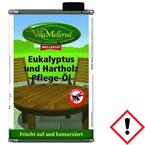 Eukalyptus Öl Bangkirai Pflegeöl Hartholz Wespenschutz 1L Mellerud Holzöl