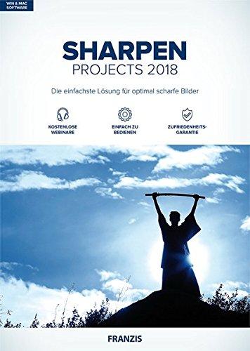 FRANZIS SHARPEN projects 2018 | Bilder digital nachschärfen | für Windows PC und Mac |CD-ROM
