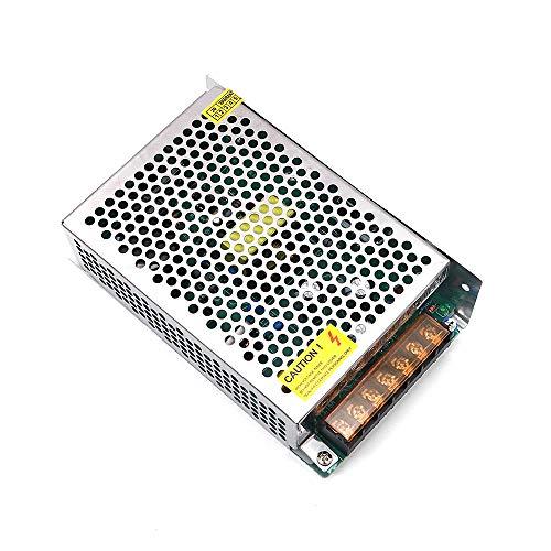 DollaTek 110V 230V AC a DC 24V 120W 5A Fuente de alimentación de Modo de Interruptor Cerrado de Voltaje Universal para cámara DCTV/Sistema de Seguridad/Tira de luz LED/Radio
