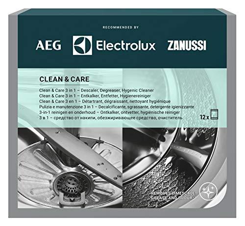 AEG M3GCP400: Limpieza y Cuidado para Lavadoras