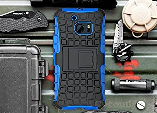 Cocomii Grenade Armor HTC 10 Case New [Heavy Duty] Premium Tactical Grip Kickstand Shockproof Hard Bumper Shell [Military Defender] Full Body Dual Layer Rugged Cover for HTC 10 (G.Blue)