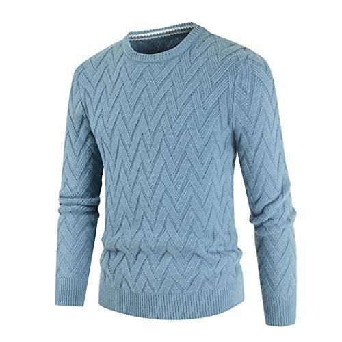 PRJN Herren Pullover Herren Neutron Sportpullover Herren Soft Cotton Thread Nähen...