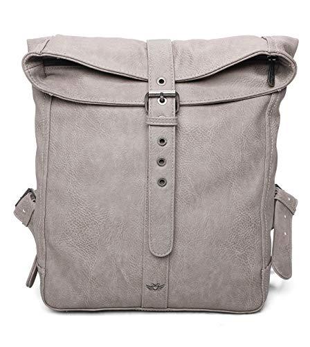 Fritzi aus Preussen Damen Elfi Backpack big Rucksack, Stone, One Size