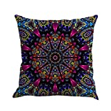 "Xinan Kissenbezug Geometrie Bohemian Pillowcase Kissen Sofa Home Dekor 45x45 (45cm*45cm/18 * 18"", D)"