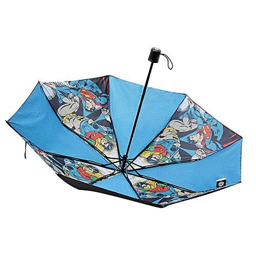 DC Comics Regenschirm mit Vintage-Comic-Aufdruck
